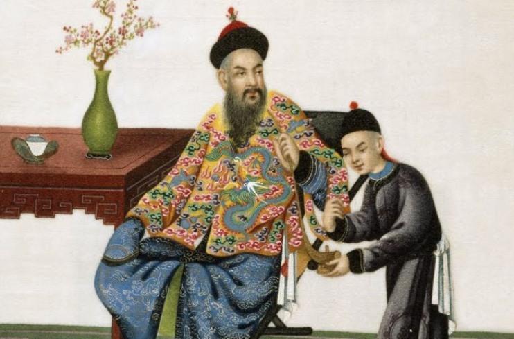 Чиновник китайский мандарин