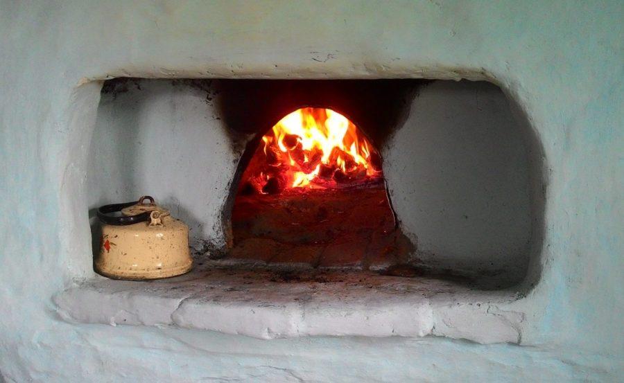 Печь для готовки и купания