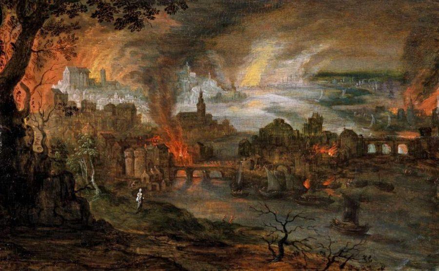 Содом и Гоморра сожжение городов