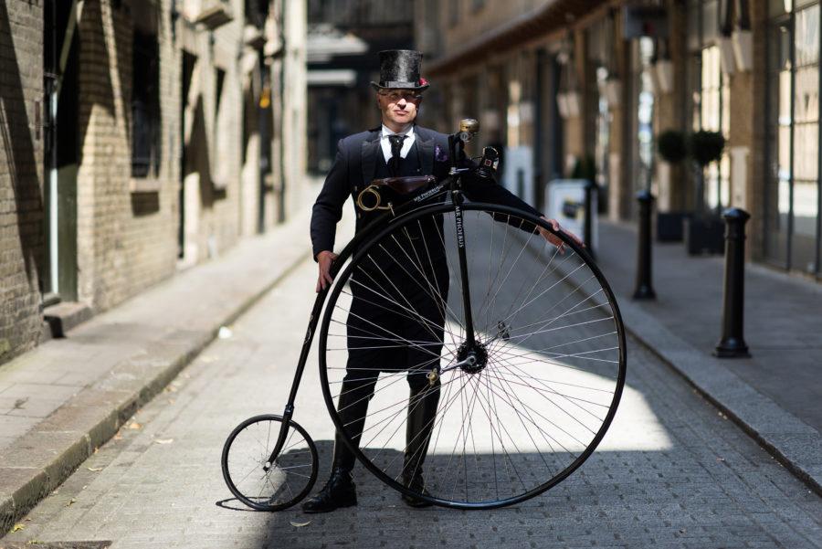 Пенни-фартинг велосипед