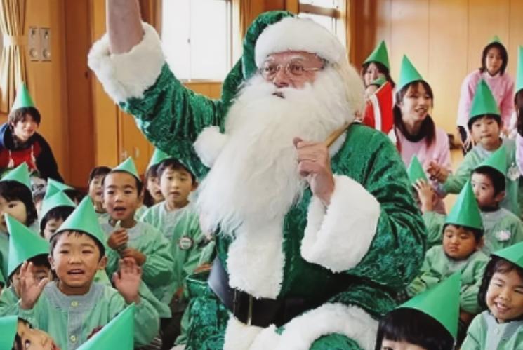Дед Мороз в Японии Сегацу-Сан