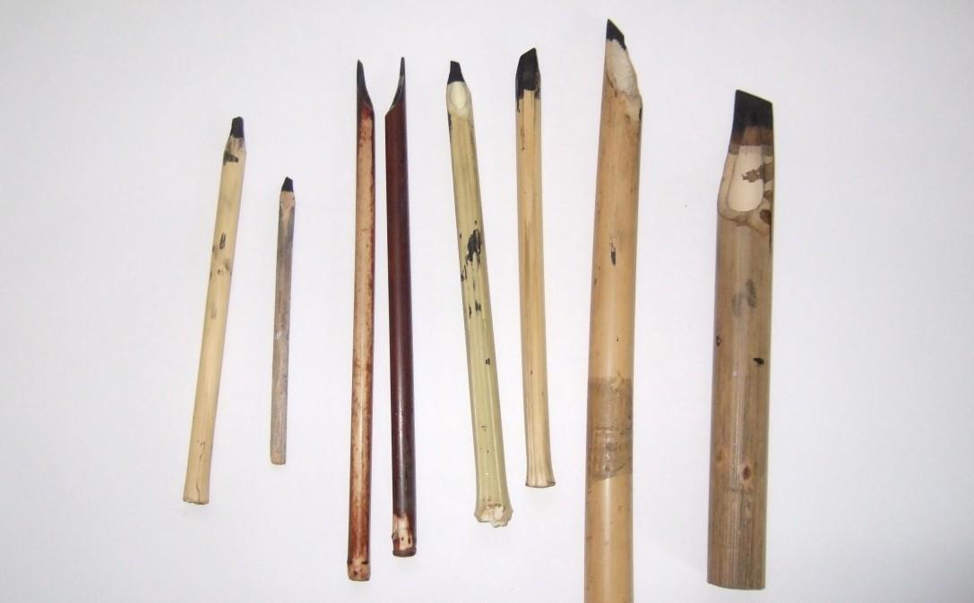 Первые ручки из растений