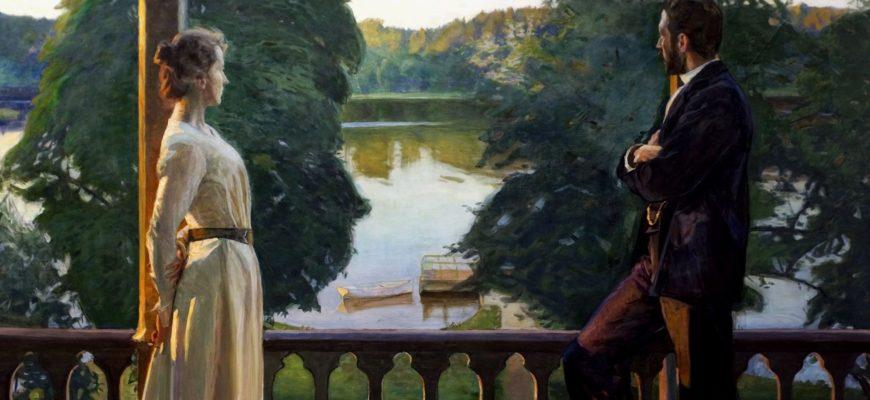 Граф Шереметьев с женой